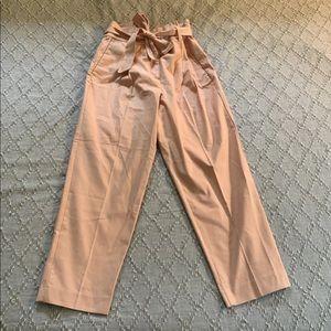 NWT Ann Taylor High Waisted Paperbag Pants